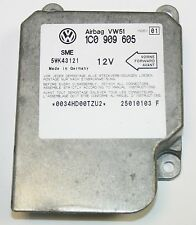 VW Golf MK4 Air Bag Crash Control Module ECU 1C0 909 605 A index 01