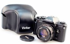 Vivitar V3800N 35mm Manual SLR Camera With 50mm F1.7 Lens & Case