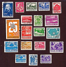 ROMANIA, 19 1960-74 Postal & Transport, Ships + Stamps, Used, See Descr  FUS777