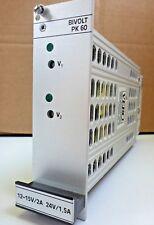 Vero Schaltnetzteil PK60-D Bivolt Typ 116-010080E   12V-15V/2A,  24V/1,5A   NOS