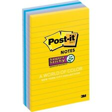 Post-it® New York Collection Post-it Super Sticky Notes (6605ssny)