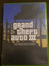 Xbox Game Grand Theft Auto GTA III 3