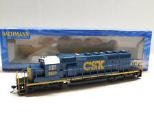 HO Scale - Bachmann - 60910 CSX EMD SD40-2 Diesel Locomotive Train #8861 w/ DCC