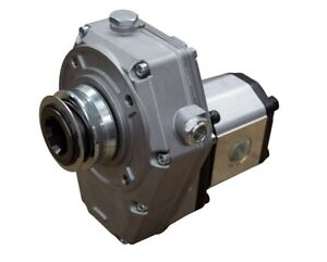 Hydraulic PTO Gearbox and Group 2 Pump Assembly, 25cc, 51.30 L/Min, 9.94 kW