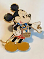 Vintage Disney RARE Mickey Mouse Lapel Pin Hands Out Hidden Icon ~ Ships FREE