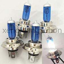 Combo 2 Pair H4/9003-HB2 Bright White Xenon Halogen Headlight #c1 Light Bulbs