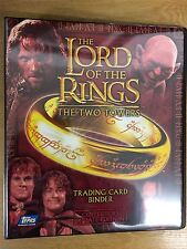 Lord Of The Rings The Two Towers Update UK Exclusive Official Topps Binder