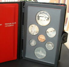 CANADA  1985   PROOF DOUBLE DOLLAR SET  ***7 COINS***