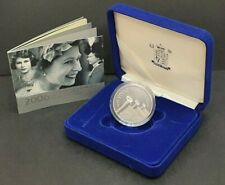 2006 Elizabeth II .925 Silver Proof 80th Birthday Crown with Case and COA