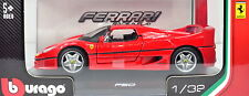 Ferrari F50 Display Cabinet Bburago Car Model 1 32