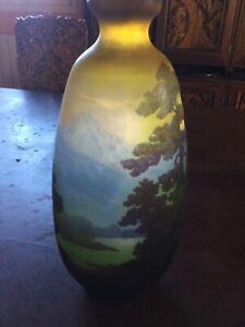 Emile Galle 37,5 cm Vase
