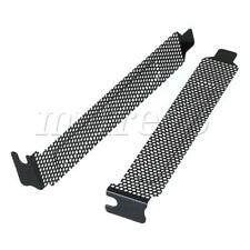 More details for 10pcs 2cm width dust filter blanking plate pci slot cover for computer case