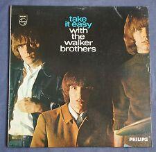 THE WALKER BROTHERS - TAKE IT EASY WITH - UK 1965 PHILIPS MONO LP - SCOTT WALKER