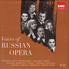 VOICES OF RUSSIAN OPERA  5 CDs, wie neu