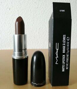 MAC Matte Lipstick Stone *NEW IN BOX* from Greece
