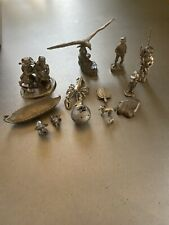 Assortment Of Pewter Figurines