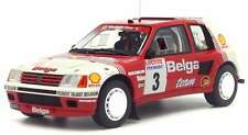 OTTO MOBILE 647 PEUGEOT 205 t16 GP B in resina modello RALLY AUTO RALLY YPRES 1985 1:18