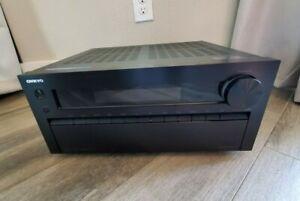 Onkyo TX-NR818 7.2 Channel HD AV Receiver DTS AM/FM + 7 HDMI - NO AC CORD