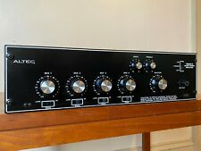 Vintage Altec 1606C Mezclador Amplificador De Potencia. 1588B Enchufe de preamplificador de micrófono en Transformers