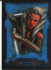 Star Wars Masterwork 2016 Blue Base Card #38 Ahsoka Tano