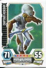 Star Wars Force Attax Series 3 Card #11 Captain Ackbar