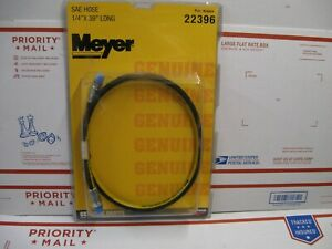 "MEYER DIAMOND GENUINE SNOW PLOW HOSE NEW IN WRAP PART 22396 1/4"" X 39"" SAE"