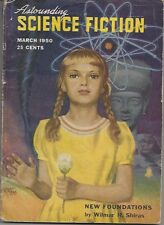 Astounding Science Fiction March 1950  (L.Ron Hubbard Story)