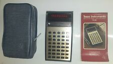 Vintage Texas Instruments TI-30 Scientific Calculator w/ Case & Manual, Works