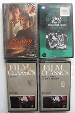 Sealed? VHS Movies: ECSTASY,Days of Wine & Roses,CABINET OF DR CALIGARI,Country