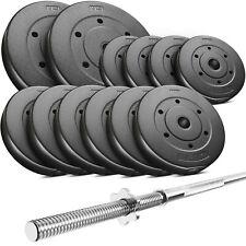 Trex Hantelset 60 kg Langhantel Set Stange Hantel Scheiben Gewichte