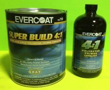 EVERCOAT SUPER BUILD PRIMER KIT 730 AND 733 CATALYST 4:1 RATIO GALLON AND QUART