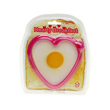 NPW HEARTY BREAKFAST Heart Shaped Silicone Shaper/Mold for Egg or Pancake W5790
