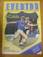 09/04/1984 Everton v Arsenal  (No Apparent Faults)