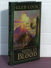 signed by 2, Sung in Blood by Glen Cook (2006)
