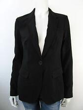 Fornarina SLate Black Jacket Jacke Blazer Sakko Vest Schwarz Neu M