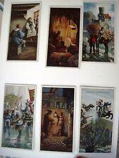 "Six Vintage German Advertising Cards by ""B.Sprengel & Co. for Chocolate (C) *"