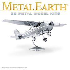 Fascinations Metal Earth Cessna 172 Skyhawk Aircraft Laser Cut 3D Airplane Model