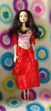 REDUCED!! DISNEY Model Muse MULAN Doll in Pretty Red Dress with FREE SHIPPING!!!