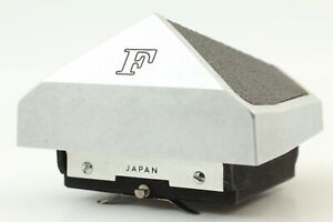 【 EXC+++ 】  Nikon F Eye Level Prism Finder Silver For F Body From JAPAN