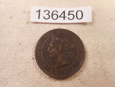 1884 Canada Large Cent - Nice - Collector Grade Album Type Coin - # 136450