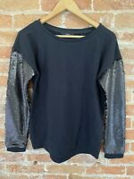 NEXT WOMENS BLACK SWEATER WITH SEQUIN SIZE: S BNWT RRP £26