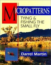 Micropatterns Tying Fishing the small fly guide book Darrel Martin trout