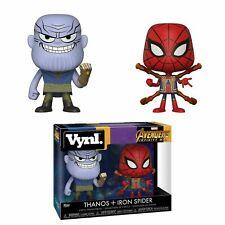 New - Funko Vynl - Marvel - Avengers Infinity War - Thanos and Iron Spider
