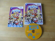 MySims Party (Nintendo Wii, 2009) - European Version - FREE UK P&P