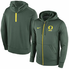 Oregon Ducks Nike NCAA Sideline KO Fleece Full Zip Therma-fit Hoodie XL