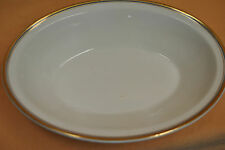 "Oval Serving Dish Vegetable Bowl Johnson Bros England 7-1/2"" X 10-1/4"" Stoneware"