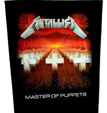 Parche de espalda maestro de marionetas de Metallica Rock Heavy Metal Cuero Denim BACKPATCH Die