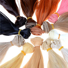wholesales Extension Hair Natural Color Curly Wigs for BJD SD Dolls