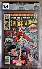 MARVEL SPOTLIGHT 32 1st App of Spider-Woman CGC 9.4 NM WP ROCKY MTN PEDIGREE