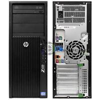 HP Z620  Workstation/ Desktop D3J41UT E5-1620 3.6GHz/ 4GB RAM/ 500GB HDD/ Win10